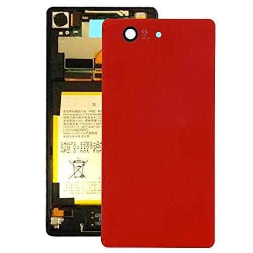 Handy-Zubehör LGMIN Batterie rückseitige Abdeckung for Sony Xperia Z3 Compact / D5803 (schwarz) neu im Jahr 2020 (Color : Red)