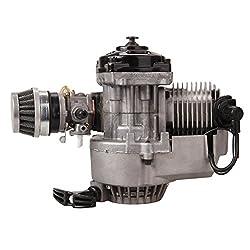 Ridgeyard 49CC Motor Dirt Bike Cross Pocketbike Kinderquad Mini Getriebe Vergaser NEU