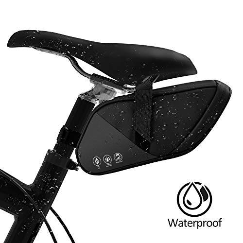 BAONUOR Fahrrad Satteltasche wasserdichte Rahmentasche Fahrradtasche Werkzeugtasche Fahrrad Handytasche für Rennrad, Mountainbike, Straßenrad et.