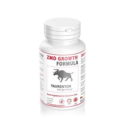 ZMD Growth Formula Muskelaufbau Testosteron - 120 Kapseln mit Zink - Magnesium -D-Aspartic Acid - für Beste Ergebnisse in kurzer Zeit
