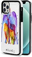 iphone 12 pro ケース iphone12 ケース 手帳型 カラー動物 Iphone12 mini Iphone12 Pro Max 用 スマホケース スタンド機能 Apple 12 レザーウォレットケースアイフォン12 ケース / アイフォン12プロ ケース 財布型