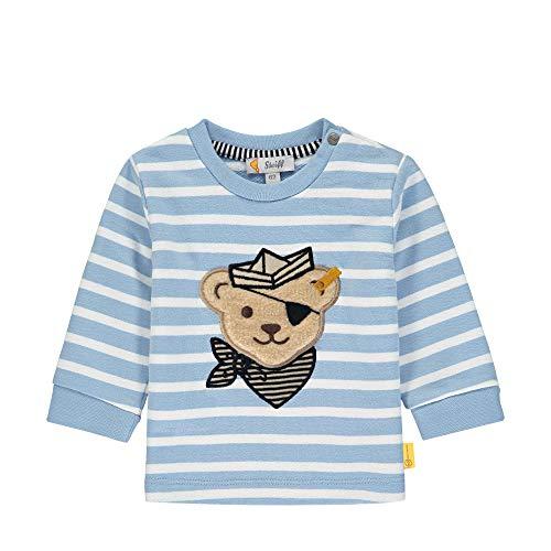Steiff Baby-Jungen Sweatshirt, Blau (Forever Blue 6027), 80 (Herstellergröße: 080)