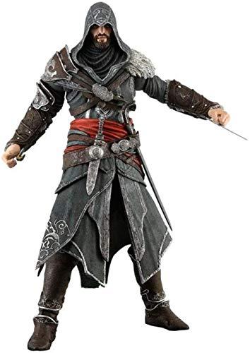 NoNo Anime Toy Assassin S Creed 3 Ezio Bewegliche Personaje de Dibujos Animados Arte Regalo Modelo Personaje Juguete 20