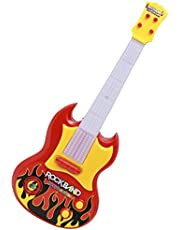 Toyshine Music and Lights Guitar Toy (Red)