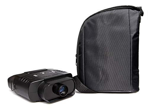 Nightfox 100V 120R beschermend gevoerde draagtas - verstelbare riem - stijlvol mat zwart