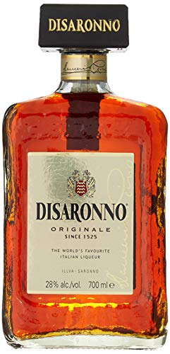 Licor italiano Amaretto Disaronno licor de almendrina - 1 botella de 70 cl