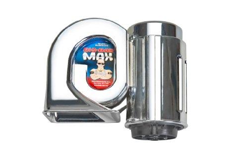 Wolo (719) Big Bad Max Chrome Air Horn - 12 Volt