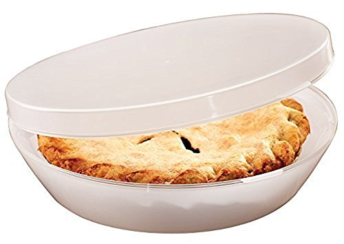 Stay Fresh Pie Keeper with Hinged Lid