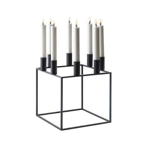 By Lassen Kerzenleuchter Kubus 8 Schwarz