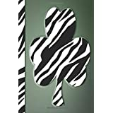 Saint Patrick Journal- Series 15, Beautiful Zebra clover: Lined Notebook, Cute Cover, 6 x 9 inches, 102 Pages, perfect for journaling (Saint Patrick Journals Collection)
