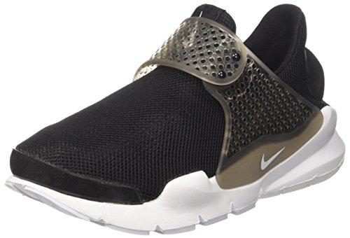 Nike Wmns Sock Dart Br, Scarpe da Ginnastica Donna, Nero (Black/White/Glacier Blue), 42 EU