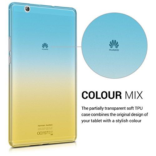kwmobile Huawei MediaPad M3 8.4 Hülle - Silikon Tablet Cover Case Schutzhülle für Huawei MediaPad M3 8.4 - 3