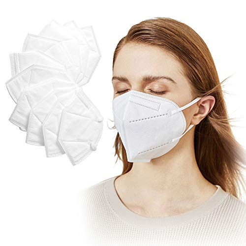 Facial Protection Filtration 95%, Anti-Fog, Adjustable Headgear Nose wire Full Face Protection Masks