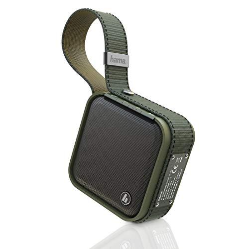 Hama Soldier S Outdoor-bluetooth-luidspreker, waterdichte, draadloze mini-muziekbox met maximaal 14 uur accuduur bij 5 W muziekstreaming, militaire look)