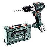 Metabo 602102840 602102840-Taladro Atornillador a bateria 18V Ah Li-Ion BS 18 LT con maletin MetaLoc, 0 W, 1 V, Negro, Size