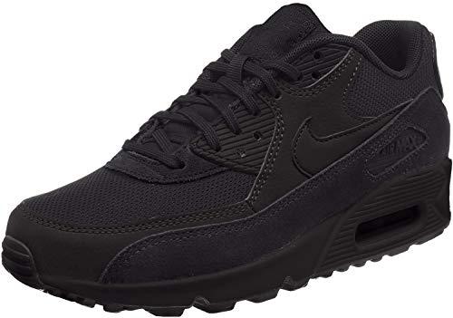 Nike Air Max 90, Scarpe da Ginnastica Basse Donna, Nero (Black), 42.5 EU