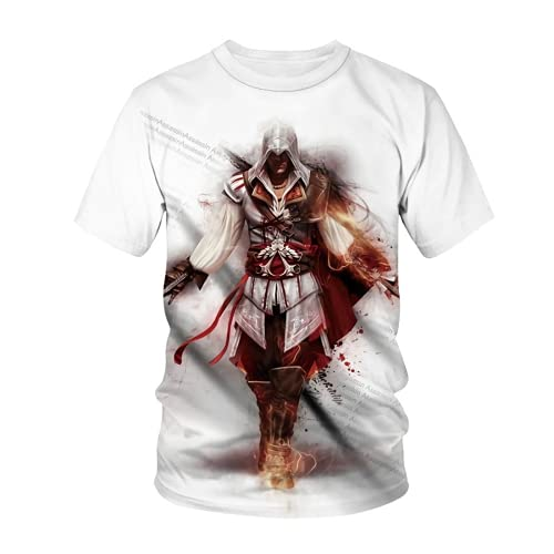 LIYIMING Assassin's Creed Valhalla 3D - Sudadera para hombre (02, XL)