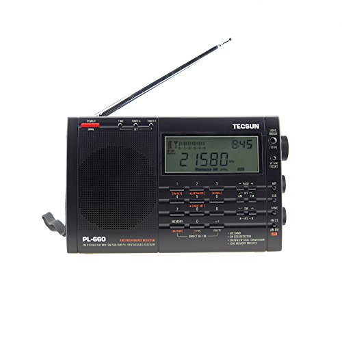 TECSUN PL-660 Portable Shortwave FM/AM World Radio Compact Receiver...