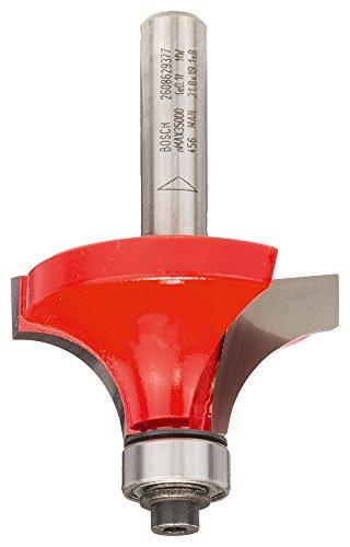 Bosch Professional Abrundfräser Expert for Wood (für Holz, Ø 38,1 mm, Arbeitslänge 19,1 mm, Zubehör Handfräse)