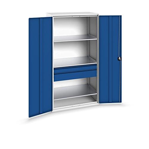 bott verso+ Systemschrank mit 2 Schubladen und 3 Fachböden, 1050 x 650 x 2000 mm, 1 Stück,...