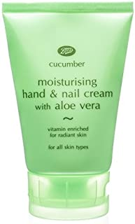 Boots Cucumber Moisturising Hand & Nail Cream With Aloe Vera 100 ml