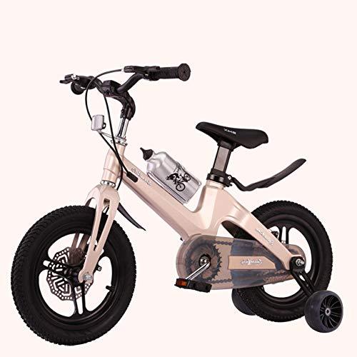 L.TSN Kinderfahrrad Freestyle Girl's Boy's Kind Fahrrad Zweischeibenbremssystem Mit Rutschfestem Hilfsrad & Einstellbarer Lenkersattel, Sicher Und Komfortabel 12