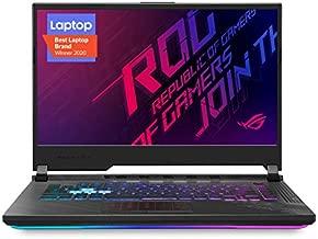 "ASUS ROG Strix G15 (2020) Gaming Laptop, 15.6"" 144Hz FHD IPS Type Display, NVIDIA GeForce RTX 2060, Intel Core i7-10750H, 16GB DDR4, 512GB PCIe NVMe SSD, RGB Keyboard, Windows 10 Home, G512LV-ES74"