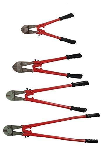 4 tlg Set Bolzenschneider 350 450 600 900 mm Stahlschere Bolzenschere