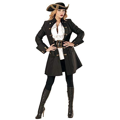 Widmann - Erwachsenenkostüm Piraten Kapitänin