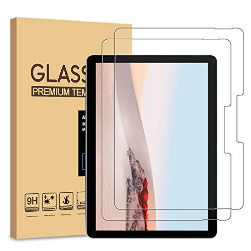 [2-Pack] Pulen for Lenovo Tab E8 Screen Protector,HD Easy Installation Anti-Fingerprints 9H Hardness Tempered Glass for Lenovo Tab E8 Tablet TB-8304F/TB-8304F1,8.0 Inch