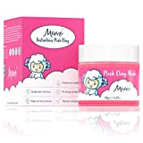 MeMe Australian Pink Clay Mask   Korean Skin Care, 100% Natural Kaolin Clay   Acne Recovery, Blackhead Deep Pore Cleanse, Purify & Brighten your Skin   Vitamin C & Hyaluronic acid 4.23Oz