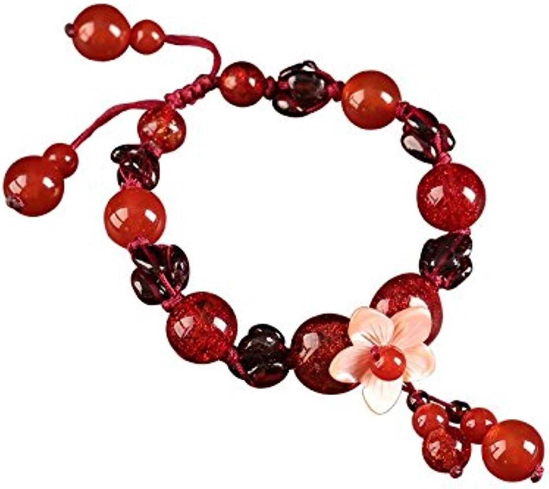 con 60% de descuento HRCxue La cuerda roja nacional este año por por por la pulsera cadena de mano de estilo antiguo shell joyería accesorios accesorios mujer  comprar barato