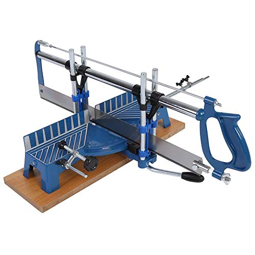 Seghetto manuale Precisione manuale ad alta tensione regolabile Troncatrice Angolo di taglio sega 22,5 ° 30 ° 36 ° 45 ° 90 °