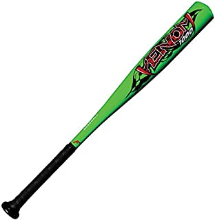 Franklin Sports Venom Aluminum Official Youth Tee Ball Bat - USA Regulation Approved - Perfect for Soft Core T-Balls - 26 Inch/16 Ounce (-10) Green