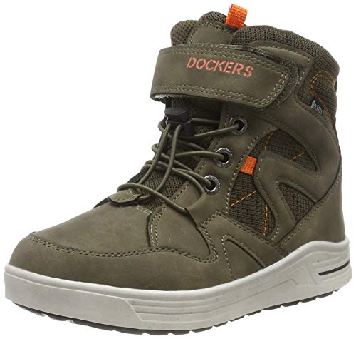 Dockers by Gerli Unisex 45RO702 Hohe Sneaker, Grün (Khaki 850), 39 EU