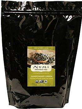 Numi Organic Tea Gunpowder Green 16 Ounce Pouch Loose Leaf Tea  Packaging May Vary