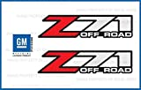 Decal Mods Z71 Off Road Decals Stickers fits Chevy Silverado - F (2001-2006) Bed Side 1500 2500 HD (Set of 2) [Officially Licensed, Made in The USA, Brand