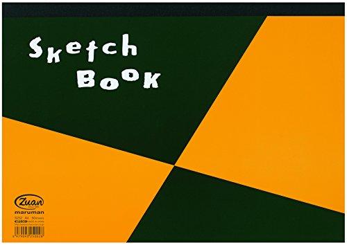 マルマン スケッチブック 図案シリーズ A4 画用紙 天のり製本