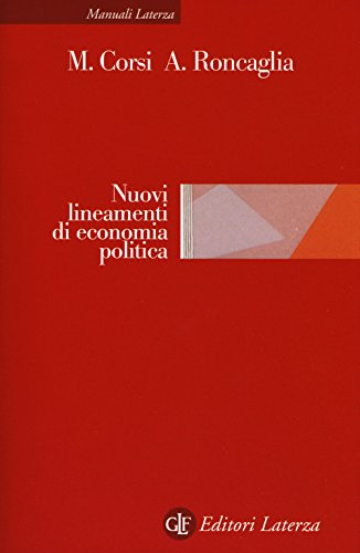 Nuovi lineamenti di economia politica