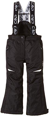 CMP, Pantaloni da sci con bretelle Bambina, modello 2014, Nero (Nero), 164 cm, Nero, 164