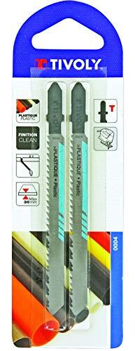 TIVOLY XT505520004 Lame scie sauteuse Bosch Plastique X2, Non Concerné