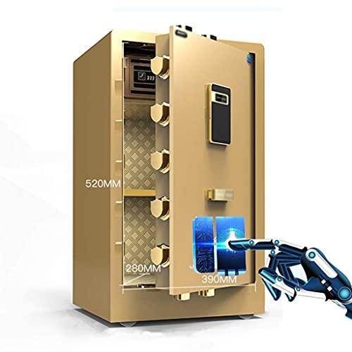GAXQFEI Diversión de Diversion Cafiles de Pared Cafia Electrónico Caja Seguro de la Oficina de la Oficina Seguro de la Hipt de Dientín de la Hipo de Dientín de la Tarjeta de la Casa de la Cama Pequeñ