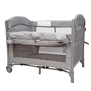 Baby Bedside Sleeper Bassinet Bed  3-in-1 Portable Crib for Newborns Side Sleeper for Babies Toddler Play Pen