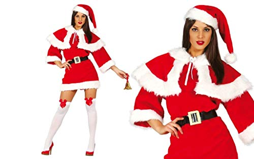 GUIRMA Costume Babba Natale Extra Babbo Donna