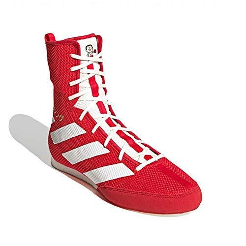 [アディダス(adidas)] BOX HOG 3(ジャパンレッド/オフホワイト/ゴールドメタリック) EG5173 Jレッド/Oホワイト/ゴールドM 25.0cm