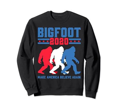 Bigfoot 2020 Hacer que Estados Unidos crean de nuevo Sudadera