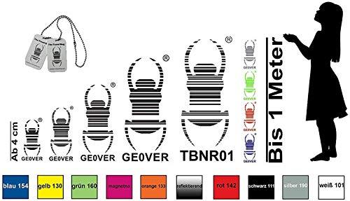 geo-versand Geocaching Autoaufkleber Konfigurator eigene Nr, Neue Nr, Kontur Travelbug trackable 52 Wunschfarben Groundspeak Käfer