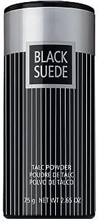 Black Suede Talc Powder