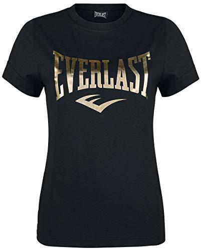 Everlast tee Lawrence Mujer Camiseta Negro S, 100% algodón, Regular