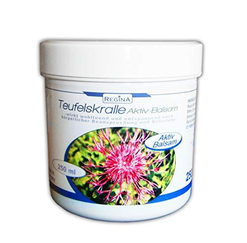 Aktiv-Balsam mit Teufelskralle 250ml Massage Pflege Creme Salbe Gel 68
